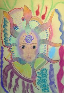 Spirit Guide Drawing - Channelled Art